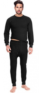 Rocky Mens 2PC Long John Thermal Underwear