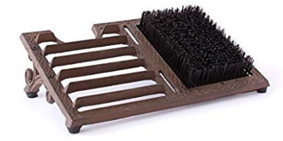 Marshall Home and Garden Boot Scraper with Brush