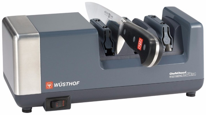 #4 Wüsthof PEtec Electric Knife Sharpener, Gray