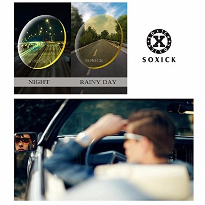 Soxick Night Driving Glasses Anti Glare