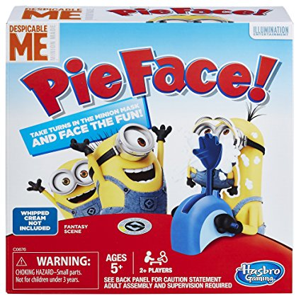 5. Pie Face Game Despicable Me Minion Made Edition