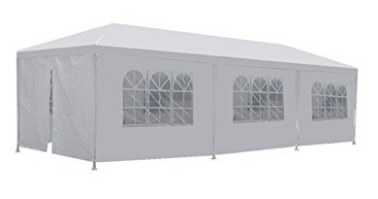 New 10'x30' White Outdoor Gazebo Canopy Party Wedding Tent Removable Walls - Wedding Canopy