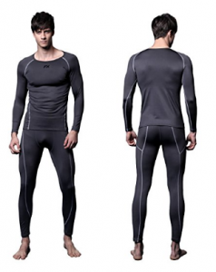 FX Mens MAXHEAT Fleece Compression Performance Long Johns Thermal Underwear