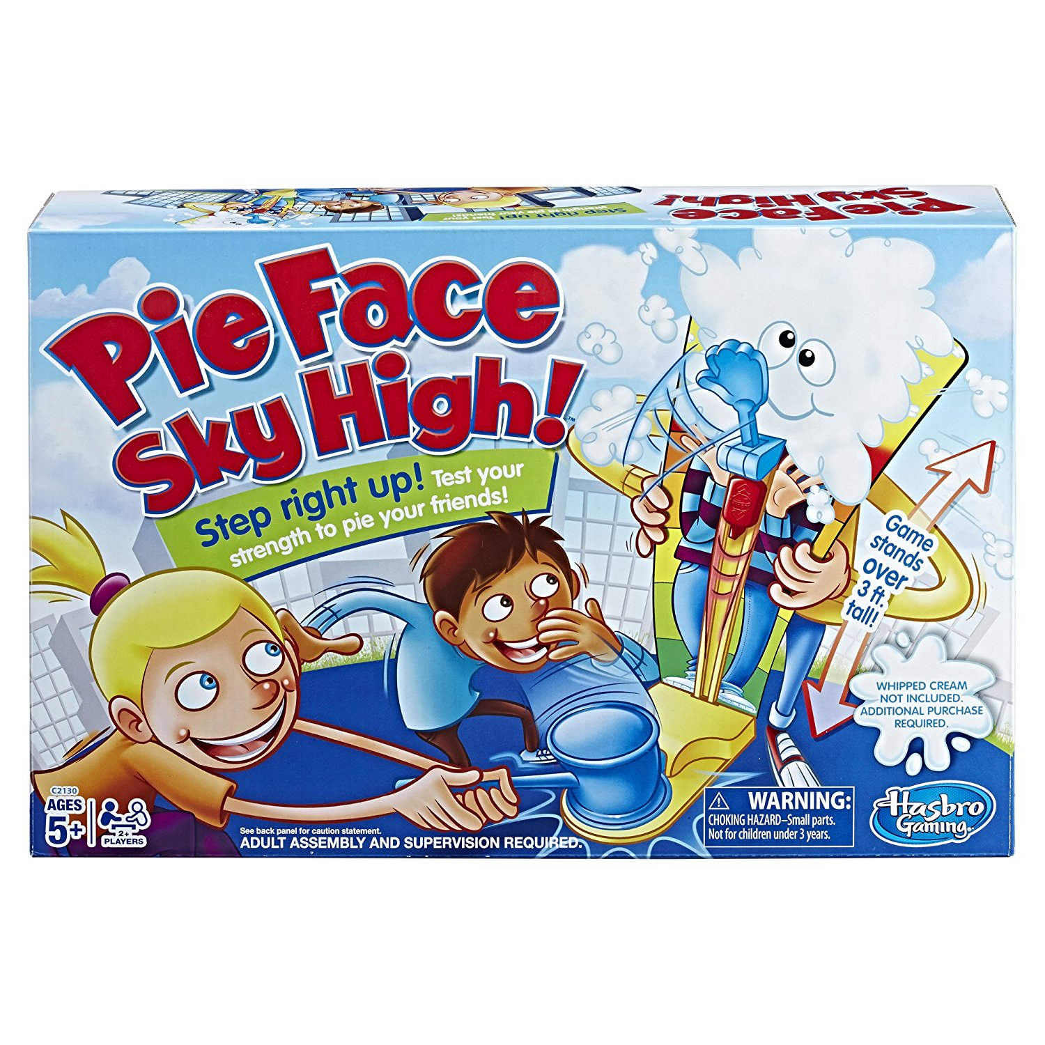 7. Pie Face Sky High Game