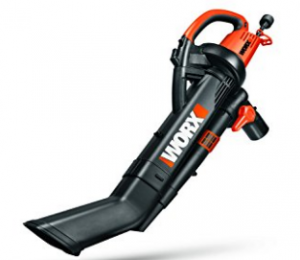 WORX TRIVAC 12 Amp 3-in-One Blower/Mulcher/Vacuum with Metal Impeller