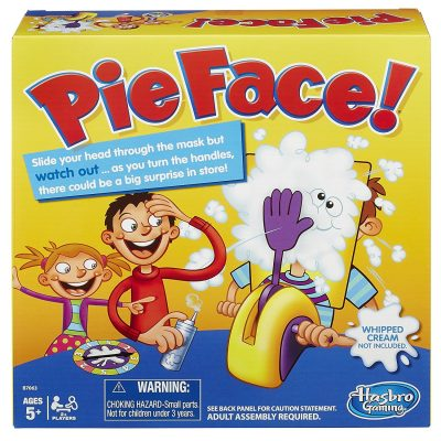 8. Hasbro Gaming-Pie Face!