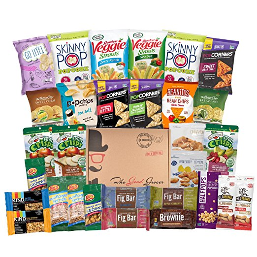 9. Good Grocer All Natural Healthy Snacks Basket