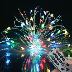 Top 10 Best Christmas LED Wire Lights 2017 Review - Christmas Light Remote
