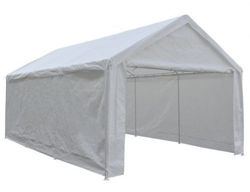 Abba Patio 12 x 20-Feet Heavy Duty Carport-Car Shelters and Canopy