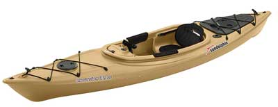 8. Sun Dolphin Excursion Sit-in Fishing Kayak