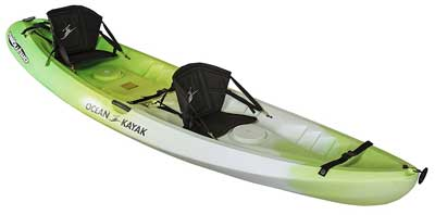 5. Ocean Kayak Malibu Two Tandem Sit-On-Top Kayak