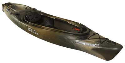9. Old Town Canoes & Kayaks Vapor Fishing Kayak