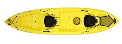 3. Emotion Spitfire Tandem Sit-On-Top Kayak
