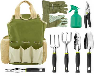 Best Garden Tools Sets   Vremi 9 Piece Garden Tools Set
