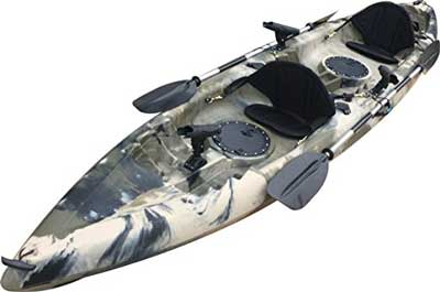 10. BKC UH-TK181 Sit On Top Tandem Fishing Kayak