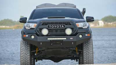 1.Dobinsons 4x4 Front Winch Bumper for 2016 & 2018 Toyota Tacoma