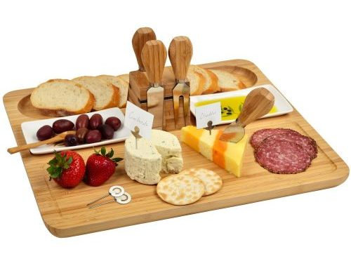 Bamboo-Cheese-Board-Set-with-4-Stainless-Steel-Cheese-Tools