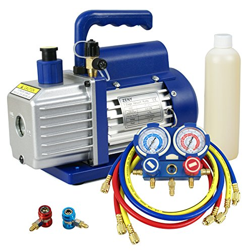 Combo 3,5CFM 1/4HP Air Vacuum Pump