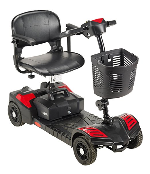 Drive Medical Scout Compact Travel Power Scooter-Electric Wheelchairs