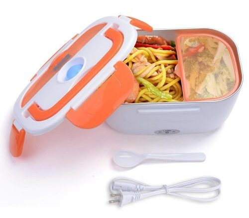 Light Weight 1.5 Liter Electric Heated Lunch Box