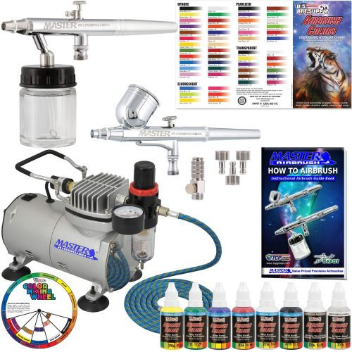 Master Airbrush Multi-Purpose Airbrushing System