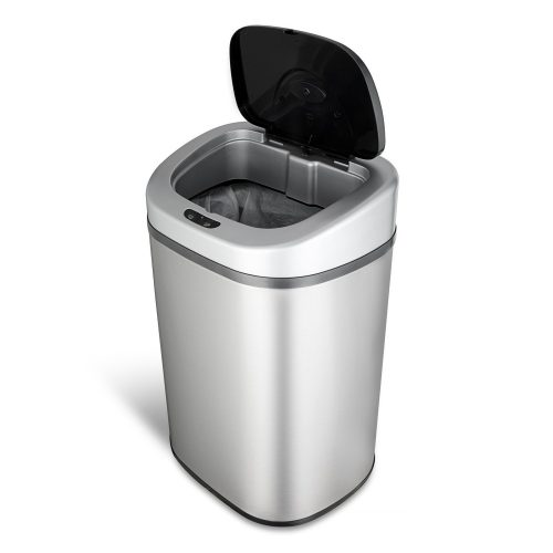 NINESTARS DZT-80-4 The Original Touchless Automatic Motion Sensor Trash Can