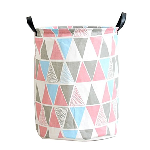 Nursery Hamper Canvas Laundry Basket