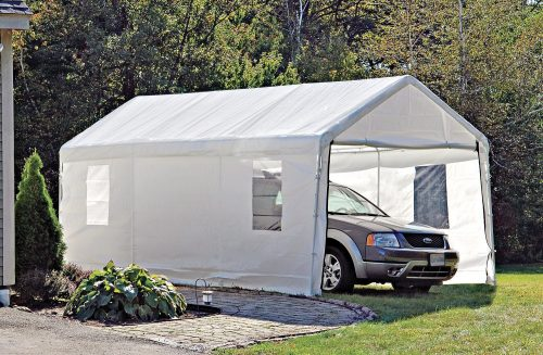 ShelterLogic Portable Garage Canopy Carport & Top 10 Best Car Shelters and Canopy in 2018