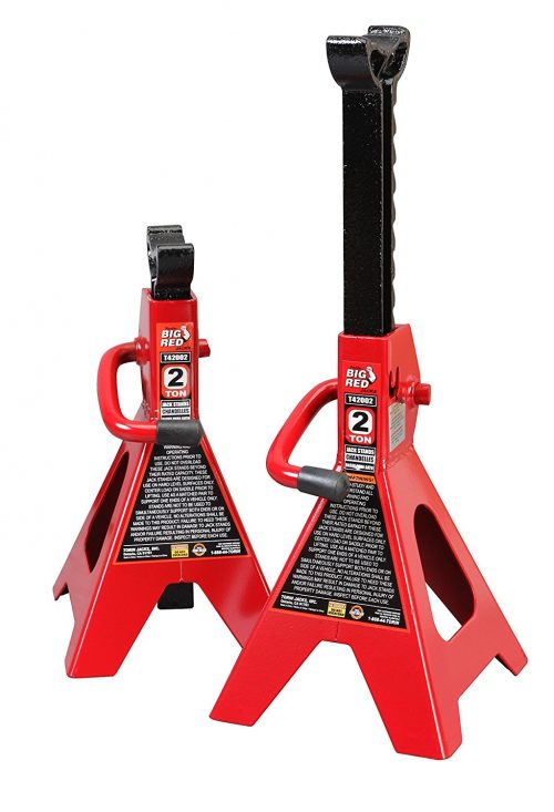 Torin Big Red T42002 Steel Jack Stands-Jack Stands