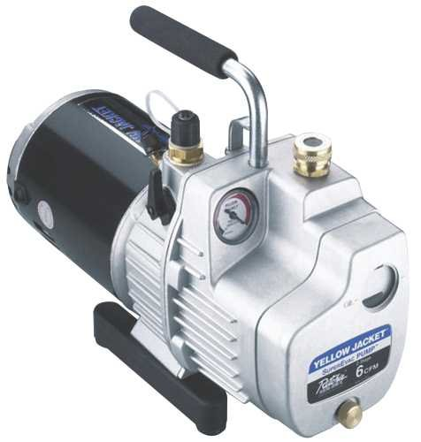 Yellow Jacket 93580 Superevac Vacuum Pump-Air Conditioning Vacuum Pumps