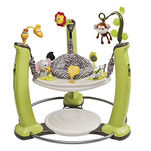 10. Evenflo ExerSaucer Jump and Learn Jumper