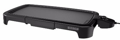 BLACK+DECKER GD2011B, 20 x 11 inch, Family Sized Electric Griddle