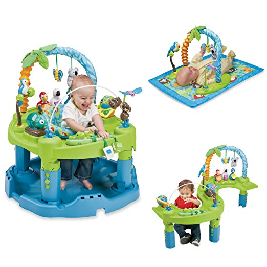 2. Evenflo ExerSaucer Triple Fun