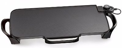 Presto 07061 Electric Griddle with Removable Handles, 22 Inch