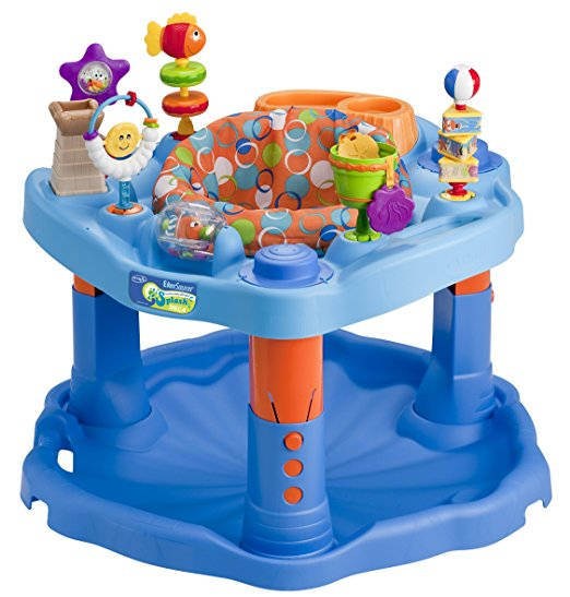 4. Evenflo Splash Mega Exersaucer
