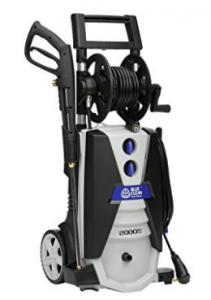 AR Blue Clean AR390SS 2000 psi Electric Pressure Washer with Spray Gun