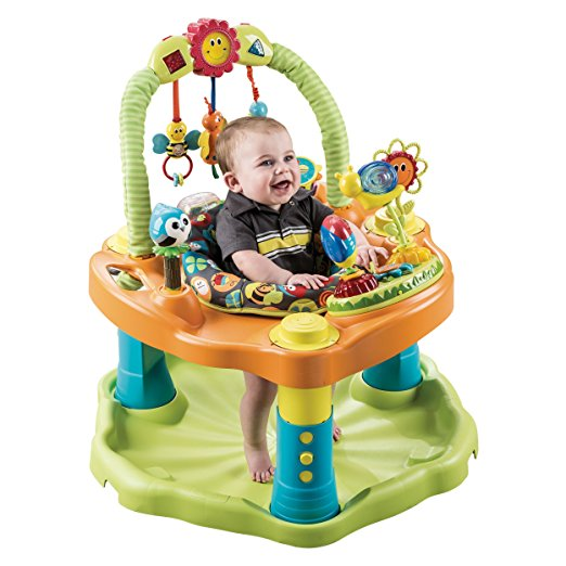 5. Evenflo ExerSaucer Double Fun Saucer