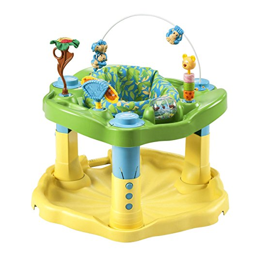 7. Evenflo Exersaucer Bounce & Learn