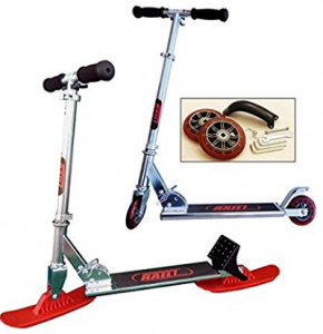 RAILZ Youth Street & Snow Scooter, more fun than sleds and snow toys