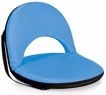 ONIVA Picnic Time Recreational Reclining Seat, Light Blue