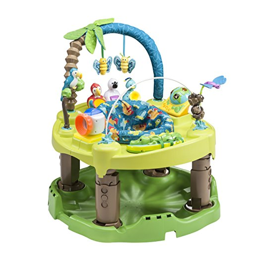 8. Evenflo Exersaucer Triple Fun Active Learning