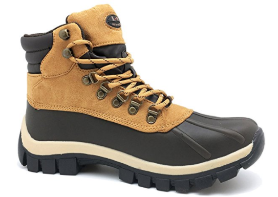 9. L&M winter snow men 7014 work boots