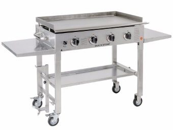 #9 Blackstone Stainless Steel Outdoor Griddle & Grill, 36-inch