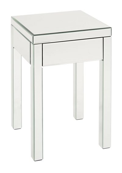 AVE SIX Reflections End Table with Drawer