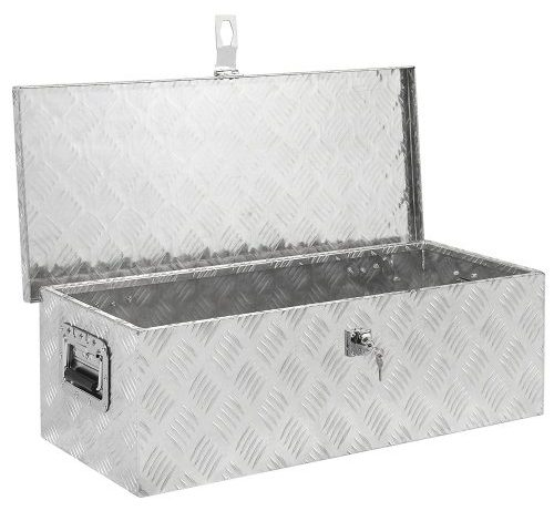 Aluminum Camper Tool Box W/ Lock Pickup Truck Bed