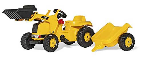 3. Rolly Toys CAT Construction Pedal Tractor