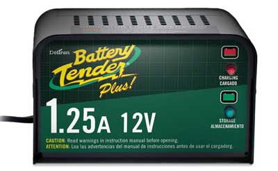 4. Battery Tender Plus 021-0128, 1.25 Amp