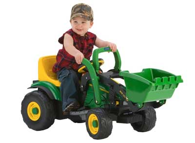 Best Kid Riding Tractors - Peg Perego John Deere Mini Power Loader