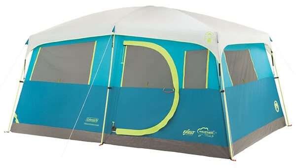 Coleman Tenaya Lake Fast Pitch 8-Person Cabin Tent with Closet  sc 1 st  TheZ9 & Top 10 Best 8 Person Tents in 2018