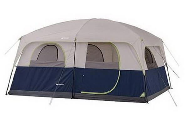 10 Person Tent 2 Rooms Instant Outdoor Family Trail Hunting Camping Cabin Wall